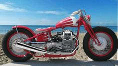 Small block bobber - it's not really on that beach