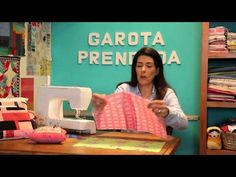 Aprenda a costurar uma fronha ou capa para travesseiro passo a passo Descomplica! - YouTube