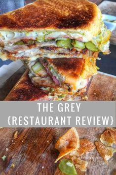 The Grey Restaurant in Savannah Ga Lunch Places, Dinner Places, Places To Eat, Savannah Ga Restaurants, City Restaurants, Savannah Georgia, Savannah Chat, Restaurant Recipes, Wine Recipes