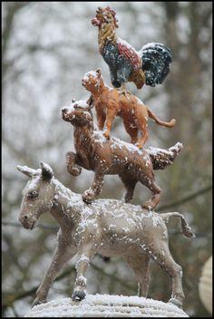Fotogalerie De Vijf Zintuigen (Efteling) - sybren :: Winter Efteling 19-12-12 :: De Bremer Stadsmuzikanten