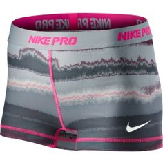 The Nike Women's Pro Core Print Compression Shorts are a motion-friendly training essential. Nike Outfits, Cute Gym Outfits, Cheer Outfits, Womens Workout Outfits, Sport Outfits, Volleyball Spandex, Nike Pro Spandex, Nike Pro Shorts, Spandex Shorts