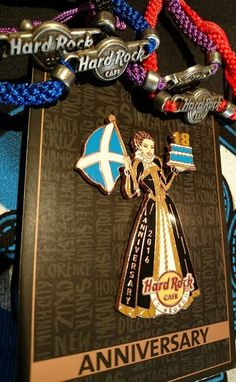 Happy Birthday to us! Our beautiful 18th Anniversary pin #limitededition #pincollectors #thisishardrock