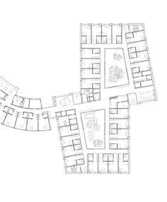 kit architects | alterszentrum feldhof | oberriet-rüthi | st.gallen schweiz | regelgeschoss