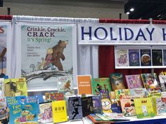 Crinkle, Crackle, Crack, It's Spring! at the ALA (American Library Association) Book Fair