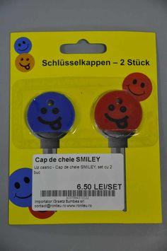 cap de cheie SMILEY, set cu 2 buc art.-nr: 01049 Lei 6.50