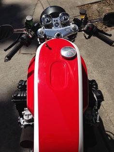 Taimoshan Honda CBX1000 Cafe Racer (1425cc) tank and dash