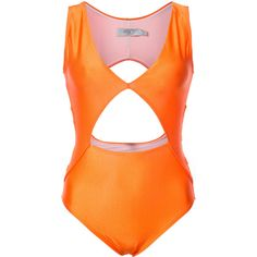 Patbo cut out swimsuit ($470) ❤ liked on Polyvore featuring swimwear, one-piece swimsuits, cut out swimsuit, cut out one piece swimsuit, spandex bathing suits, lycra swimwear and patbo