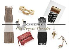4 LOOKS DE FIESTA CON TOQUES DE DORADO - La Lista de MI suegra