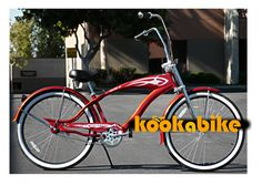 Black Friday 2014 Steel Frame, Micargi Falcon GT - Red w/ Red Rims, Beach Cruiser Bike Bicycle Schwinn Nirve Firmstrong Style from Micargi Cyber Monday Beach Cruiser Bikes, Cruiser Bicycle, Beach Cruisers, 26 Beach, Bike Deals, Ape Hanger Handlebars, Best Black Friday, Cool Bikes, Steel Frame