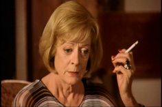 """Maggie as Emily in """"My house in Umbria"""" 25472174 Maggie Smith, Houses, Homes, House, Computer Case, Home"""