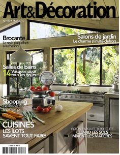 1000 images about magazine on pinterest romantic homes - Art et decoration abonnement ...