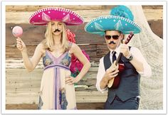 La Quinta Pastel Mexican Wedding by Alchemy Fine Events - photo booth