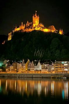Castle Mosel River, Germany