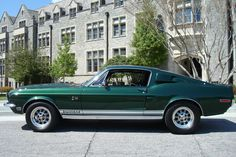 1968 Ford Mustang Highland Green