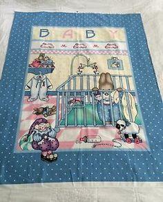 Daisy Kingdom Fabric Panel 1991 Bunny Babies for Nina | eBay