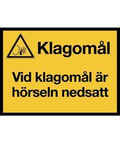 KM017 - Klistermärke - Klagomål