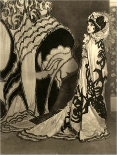 Tamamara Karsavina as Salome Russian Ballet 1913 And still looking Avant Garde 100 years later!