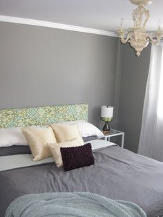 Attractive Elephant Skin For The Walls And Cathedral Grey For The Ceiling, Both From  Behr Premium. Bedroom Paint ...