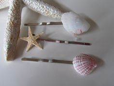 Beach Wedding Hair pins