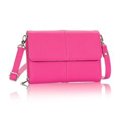This pink is perfect for spring! The Tons of Funds cross body makes a great date night bag.