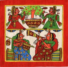 Mughal Paintings, Persian Miniatures, Rajasthani art and other fine Indian paintings for sale at the best value and selection. Mughal Paintings, Indian Paintings, Paintings For Sale, Phad Painting, Rajasthani Art, Therapy Ideas, Art Therapy, Indian Art, Persian