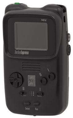 TurboExpress (1990) My brother and I bought this state-of-the-art piece of gaming when we probably shouldn't have. I believe it was $300 at the time and we only owned Keith Courage and Aero Blasters (stupid hard). I liked what the Turbo Express was capable of, but I just couldn't get into it's library of games, could of been the marketing or lack thereof, but we had limited resources that I preferred to spend on my SNES games.