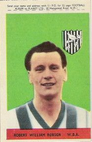 7. Robert William (Bobby) Robson, W.B.A.