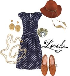 """""""Lovely..."""" by mykatymac on Polyvore    feels very Southern and sunny :)"""