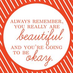 You are beautiful! Free Printable!