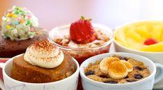 5 Amazing 1 Minute Microwave Mug Cakes
