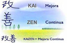 Kaizen es lo opuesto a la complacencia. Kaizen es un sistema enfocado en la mejora continua de toda la empresa y sus componentes, de manera armónica y proactiva.