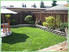 Shining Small Backyard Landscaping On A Budget