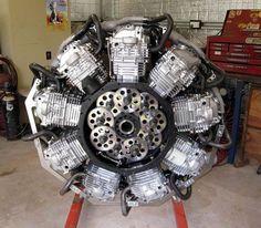 XR600 9 cylinder radial gears
