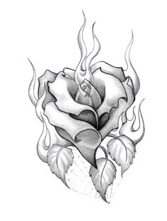 Wonderful Cost-Free burning rose drawing Strategies Within this lesson, we're going to examine the best way to draw in any increased by with pastels. We're making use Badass Drawings, Chicano Drawings, Dark Art Drawings, Tattoo Design Drawings, Pencil Art Drawings, Art Drawings Sketches, Tattoo Designs, Rose Drawing Tattoo, Heart Rose Drawing