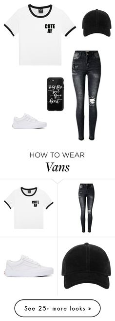 """Untitled #1831"" by anitababe46 on Polyvore featuring rag & bone, Vans and Casetify"