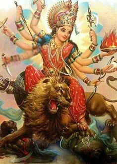 233 Best Jai Durga Maa For Watsapp photos by lakshitaaggarwal Durga Ji, Saraswati Goddess, Kali Goddess, Shiva Shakti, Maa Durga Photo, Maa Durga Image, Navratri Puja, Happy Navratri, Orisha