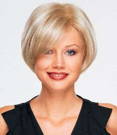 Image result for Before and After Bob Haircuts Bob Hairstyles For Fine Hair, Short Bob Haircuts, Hairstyles With Bangs, Cool Hairstyles, Short Curly Wigs, Short Hair Cuts, Short Hair Styles, Bobs For Thin Hair, Thick Hair