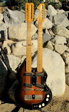 1956/57 Stratosphere Twin Guitar « TK Smith