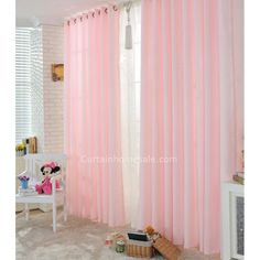 [ Pink Curtains For Girls Bedroom Ideas Your Kids And Made Sweet Floral Designer Online ] - Best Free Home Design Idea & Inspiration Girls Bedroom Curtains, Pink Curtains, Cool Curtains, Master Bedroom, Pink Room, Room Interior, Interior Design, Beautiful Babies, Colorful Interiors