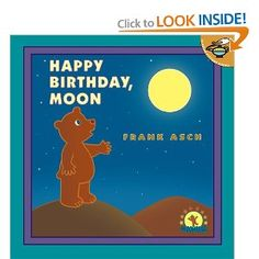 One night Bear looked up at the sky and thought, wouldn't it be nice to get the moon a birthday present?...