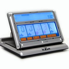 Trademark Poker 10-41955 Laptop Video Poker Machine with Touch Screen by Trademark Global. $73.99. 6 x 9 inch Color Touch Screen. 7 games in 1, including Draw, 2's Wild, Bonus, 2X Bonus, 2XX Bonus, Jokers Wild, and 2X Jokers Wild. Automatic Scorekeeping. Uses 3 AA Batteries or a power adapter (included). Realistic Casino sounds. Touch Screen Travel (laptop) Poker. Looks like a computer but it's actually a laptop video poker with a back-lit, color touch screen, sev...
