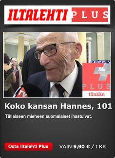 Hannes, 101, ällistyi saamastaan suosiosta