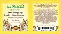 ANTI AGING Serum botanical and Nutritive Moisturizing Skin Care