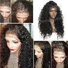 Glueless Remy Virgin Human Hair Wigs Pre-Plucked Full Lace Front Wigs Baby Hairs