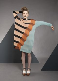 The hanging gardens of Babylon sweater dress. I'm obsessed with WORLDofJAS! I want one of his sweaters.