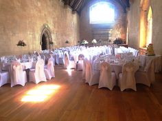 Weddings in Bradenstoke Hall, St Donats castle