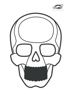 89 best acchiappa sogni images in 2018 halloween crafts halloween Blank Skull Outline printables for kids skull art techno children activities sugar