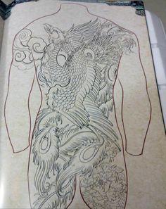 Japanese Phoenix Tattoo, Small Phoenix Tattoos, Phoenix Tattoo Design, Japanese Tattoo Art, Small Tattoos For Guys, Top Tattoos, Body Art Tattoos, Tattoo Drawings, Sleeve Tattoos