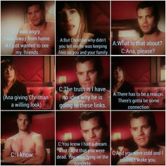The aftermath of the Red Room punishment ❤ Requested by For more text scene posts DM me. Fifty Shades Quotes, 50 Shades Freed, Fifty Shades Movie, Red Room 50 Shades, Shades Of Grey Movie, Fifty Shades Darker, Christian Grey, 50 Shades Trilogy, Johnson Family