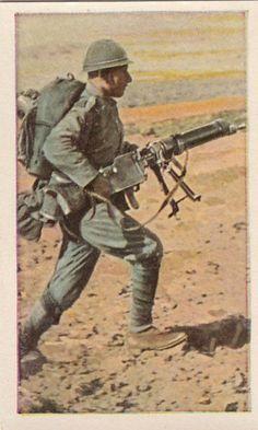 Soldier Polish Poland Infantry Machine Gun World War II, pin by Paolo Marzioli